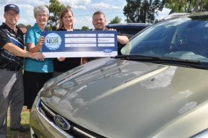 Fundraising 'Drive' Helps School