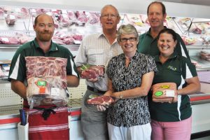 Couple Wins Super Meat Tray