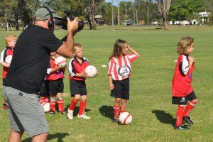 Junior Redbacks Aim For TV Fame