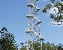 Fire Tower Action Group<br> Points To Mt Allan Repairs