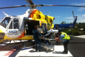 Man Airlifted After Spider Bite