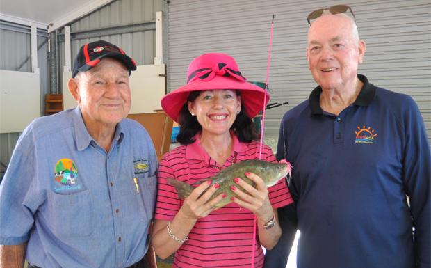 Percy Izlaub, Kathy Duff and Alan Keates