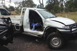 Rescue Chopper<br> Lands At Crash Site