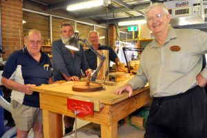 Woodcrafters On Show At Shoppingworld