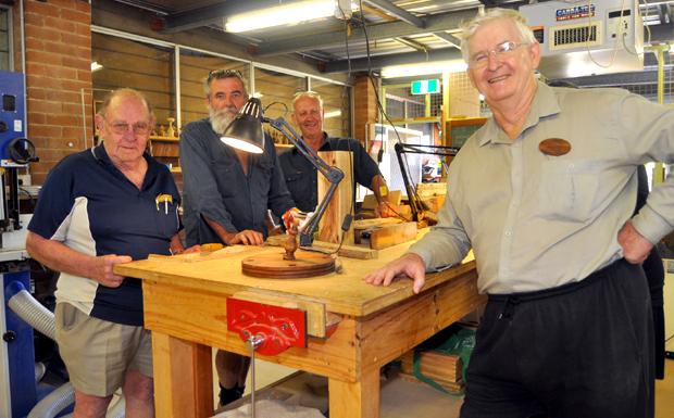 Brian Smith, Peter Flynn, Dick Rasmussen and Doug Hutcheson