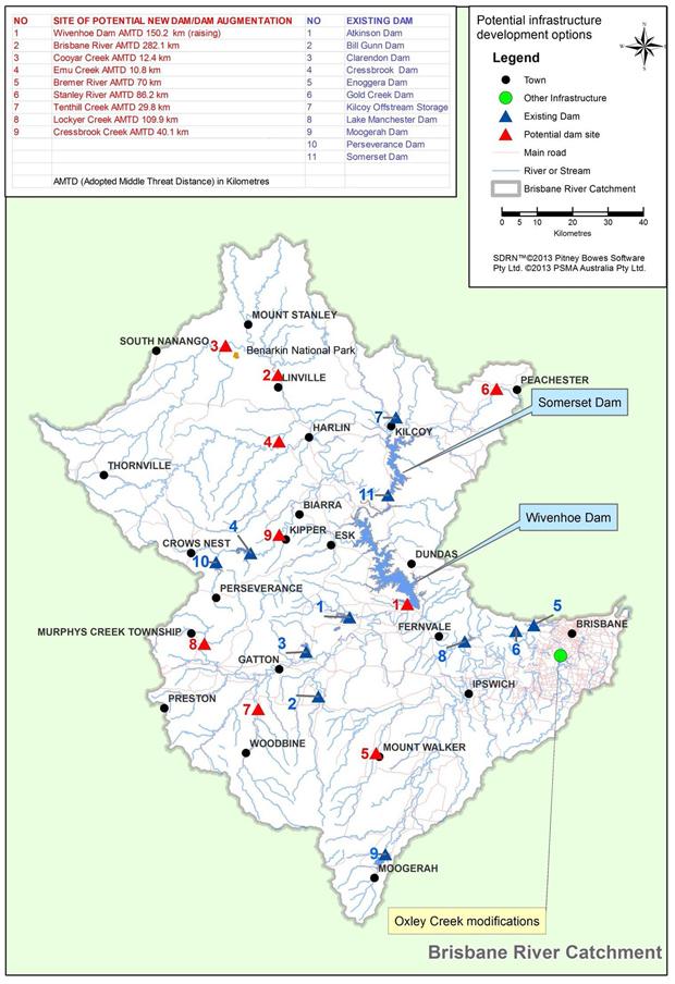 Premier Pinpoints Sites For Dams - southburnett com au