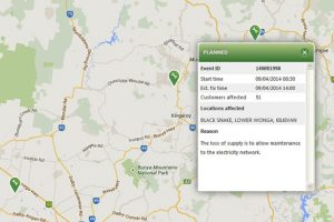 Ergon Unveils Outages Map