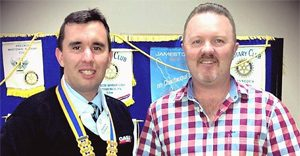 Jason Wins Rotary Award
