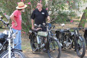 Historic Motorbikes Hit The Road