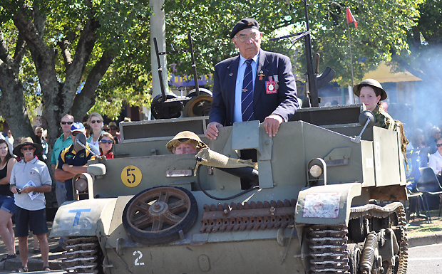 Murgon Anzac Day parade