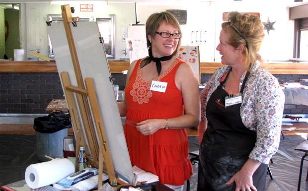 RADF pastel workshop