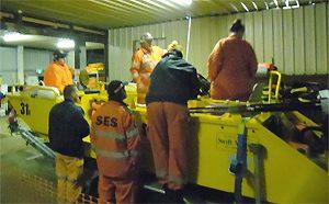 SES Volunteers Train For Floods