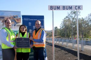 $10m Bridge Opens At Bum Bum Creek