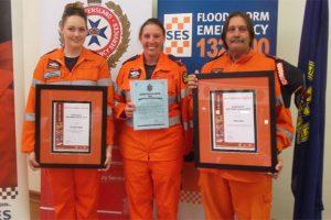 South Burnett<br> SES Wins Top Award