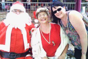 Santa Drops By To Say Hi