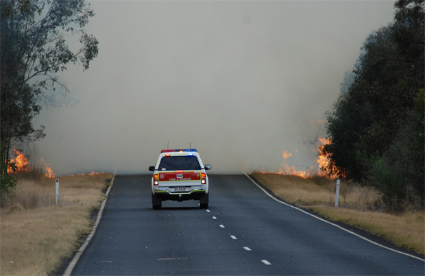Bushfire Season 'Not Over Yet'