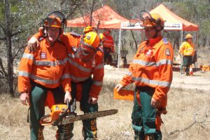 SES Volunteers Sweat It Out For Summer