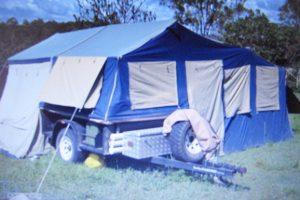 Camper Trailer Stolen