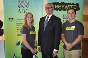 Kirsten Snaps Up Heywire Win