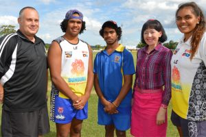 Beach Beckons For Young Footballers