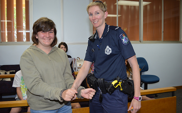 Students Get Hands On Look At Law Southburnett Com Au