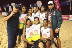 Cherbourg Wins Beach Trophy