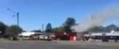 Campervan Destroyed By Fire