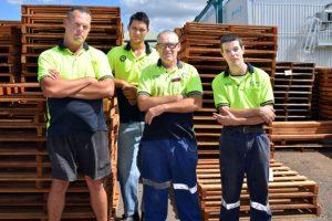 Pallet Team Knocks Up A Record