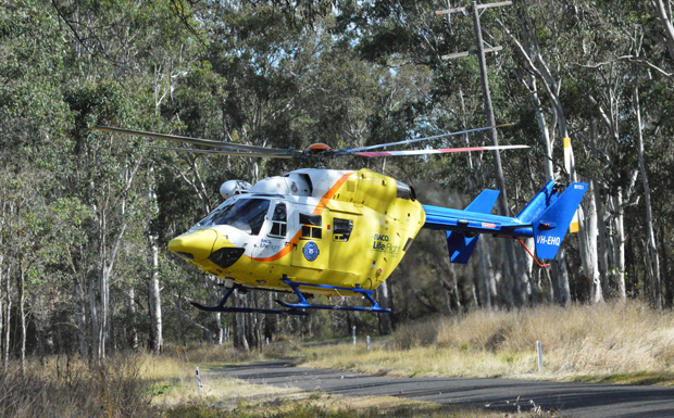 Chopper Called To Crash
