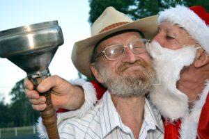 Santa Thanks Hivesville Helpers