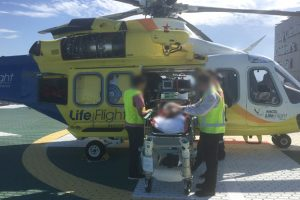 Young Cyclist Seriously Hurt