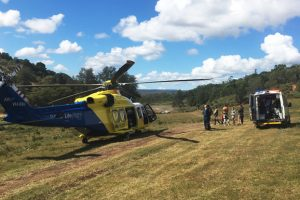 MX Rider Flown To Hospital