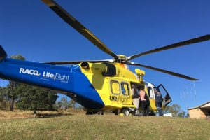 Man Injured In Quad Bike Fall