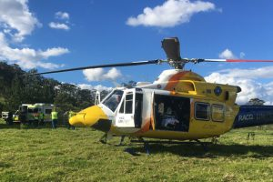 Man Badly Hurt In Fall