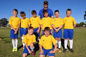 Young Soccer Players<BR> Prepare For Coast Cup