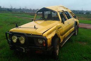 4WD Rolls At Wooroolin