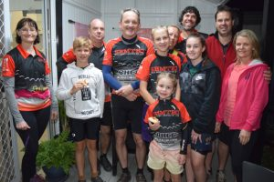 Riders Hit The Trail For Pizza