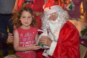 Kumbians Pause For Santa Claus