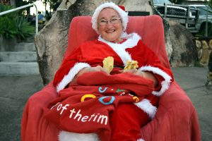 Mrs Claus Visits Hivesville