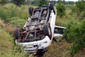 Crash Driver Has Lucky Escape