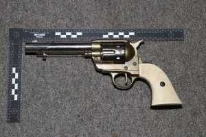 Man Quizzed Over Weapons