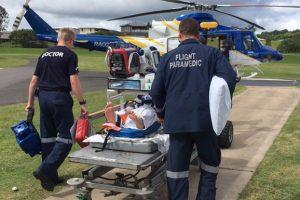 Two Injured In Crash