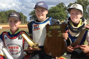 Speedway Champ Supports Young Riders