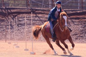 Young Riders Test Their Skills
