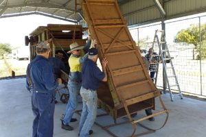 Historic Thresher Goes On Show
