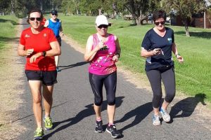 Runners Celebrate Their 100th