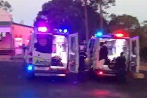 Seven Injured When 4WD Rolls
