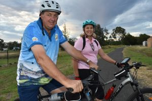 Locals Join Ride For Research