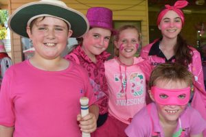 Pink Day Bowls Over Young Cricketers