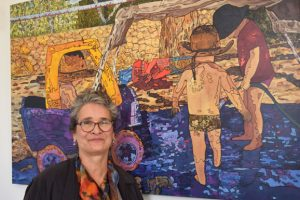Artist Explores A New Silk Road